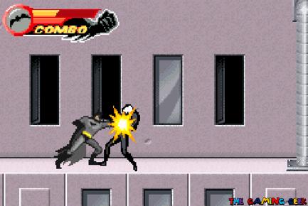 Batman's punch