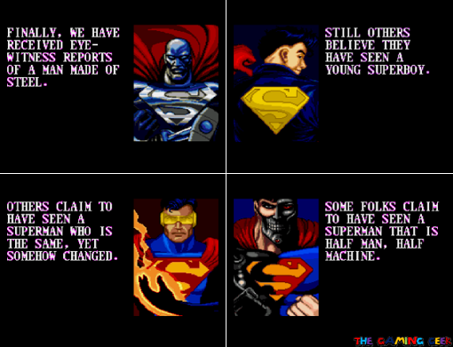 Death and Return of Superman - the new supers