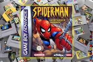 Game Boy Advance Games – Spider-Man: Mysterio's Menace