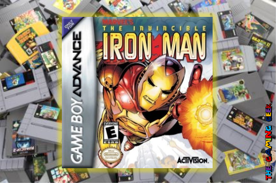 Game Boy Advance Games – The Invincible Iron Man