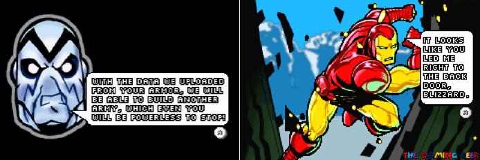 Invincible Iron Man - cutscenes