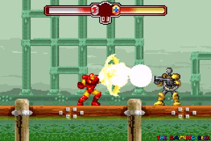 Invincible Iron Man - full charge repulsor