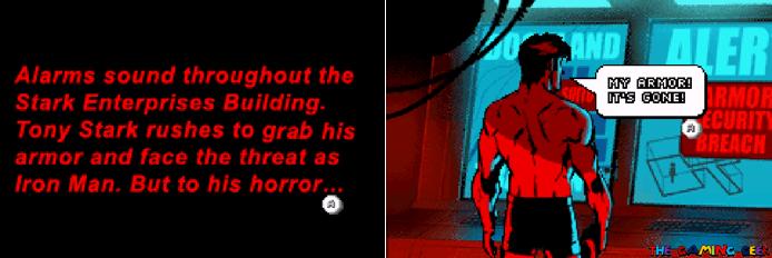 Invincible Iron Man - opening scene