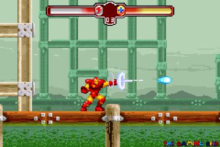 Invincible Iron Man - repulsor blast