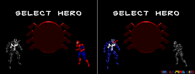 Maximum Carnage - Hero Select