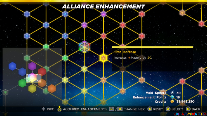 Marvel Ultimate Alliance 3 - Alliance Enhancements