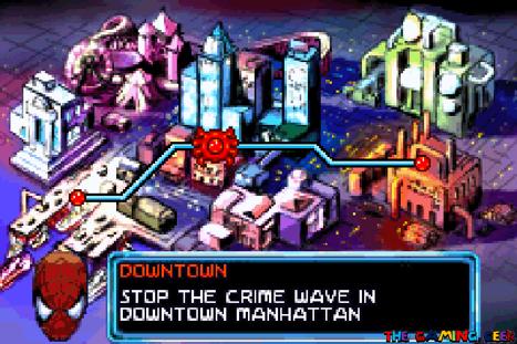 Mysterio's Menace - map screen
