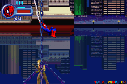 Web swinging