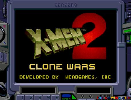 Clone Wars - title screen