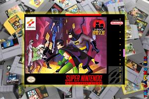 SNES Games – The Adventures of Batman & Robin