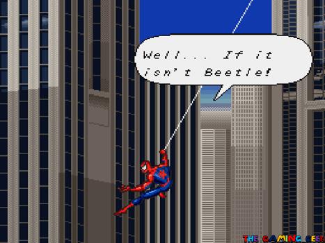 Lethal Foes - web swinging