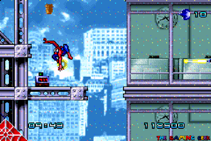 Spider-Man gba - bombs