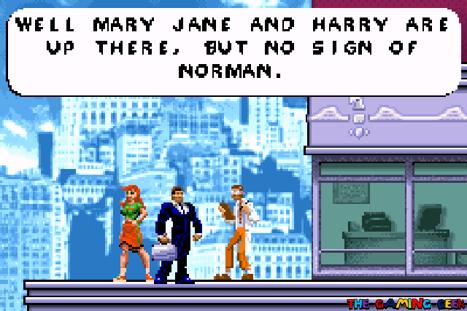 In-game cutscene