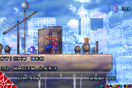Spider-Man GBA - special powers