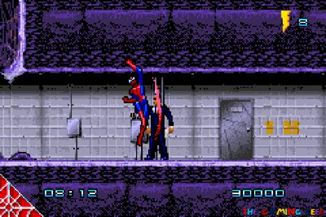Spider-Man GBA - uppercut