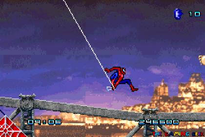 Spider-Man GBA - webslinging