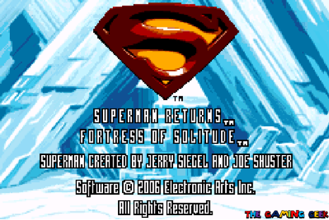 fortress of solitude - title screen
