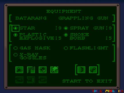 The Adventures of Batman & Robin - Gadgets screen