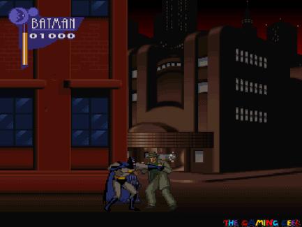 The Adventures of Batman & Robin - punching