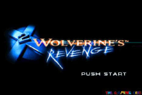 wolverine's revenge - title screen