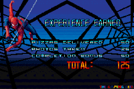 Spider-Man 2 - Earning Experience
