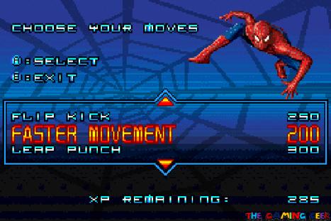 Spider-Man 2 - passive upgrades