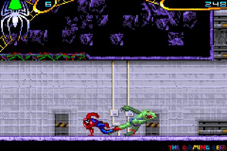 Spider-Man 2 - Sliding kick