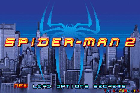 Spider-Man 2 - title screen