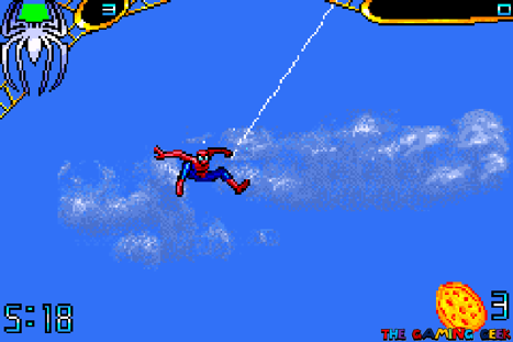 Spider-Man 2 - Web Swinging