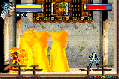 Battling Pyro